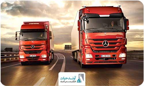 حمل و نقل جاده ای برای تجارت بین المللی